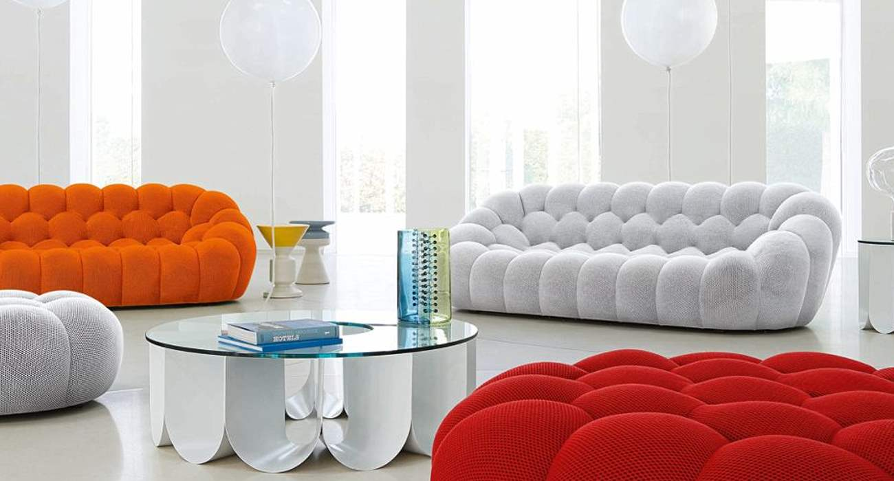 Bubble Sofa Roche Bobois bubble large 3 seat sofa design sacha lakic