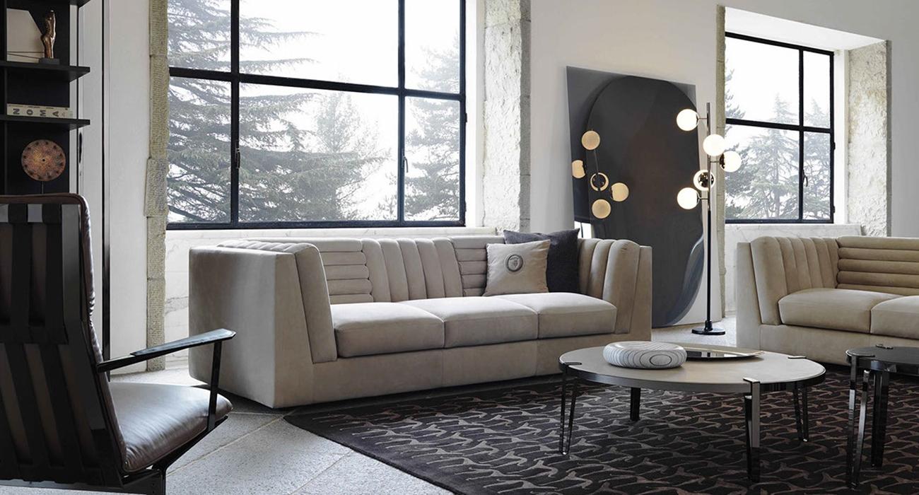 Trussardi Casa Relief Sofa