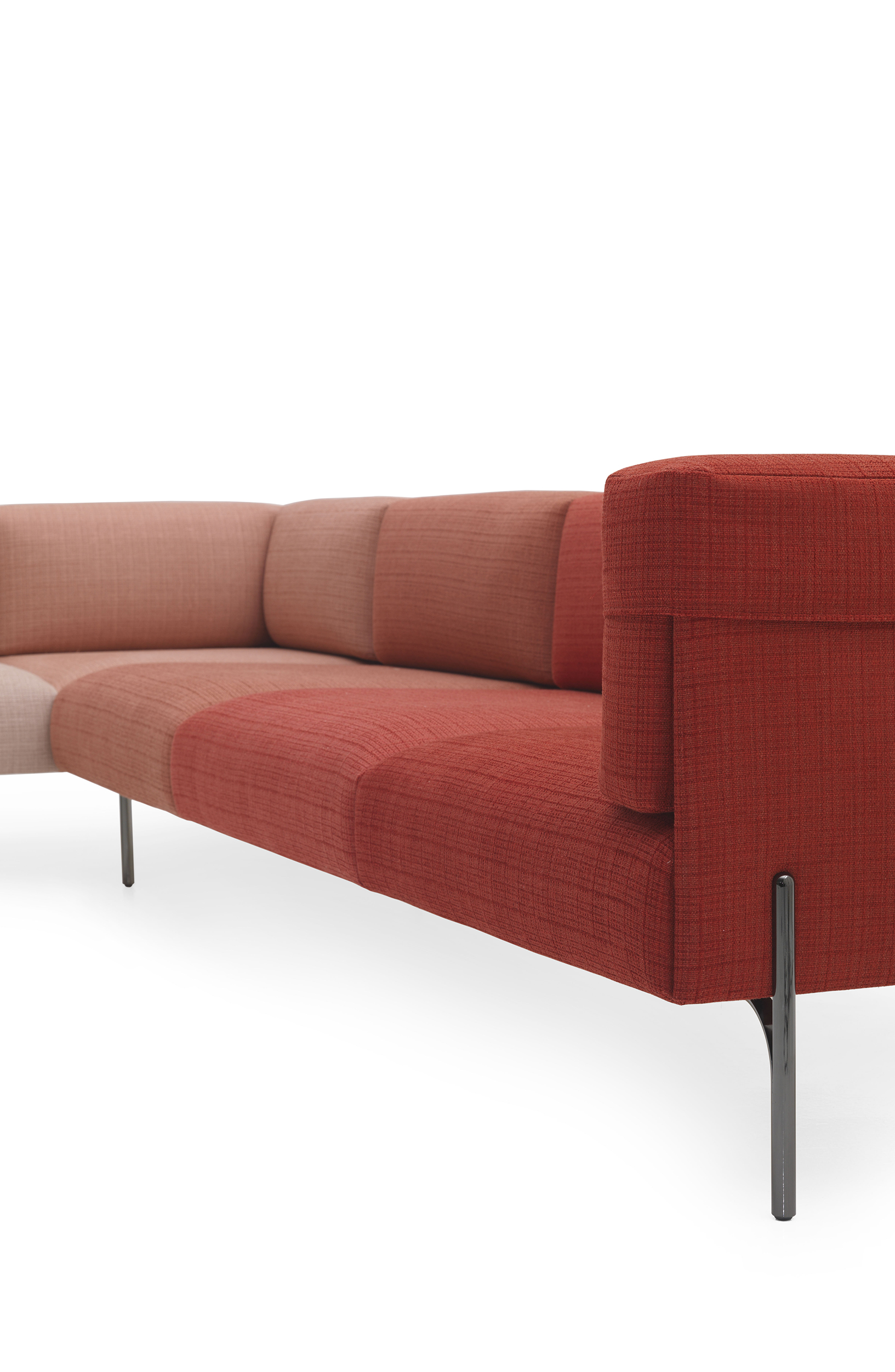 Beyond Technical Prowess And Innovation The Lightness Of Palmer Sofa Mainly Echoes Spirit Maison Fendi A Shared Obsession With Reduction Relieved