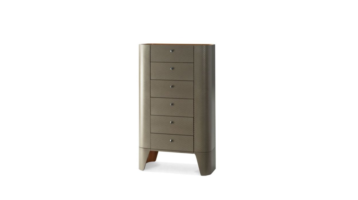 Skin tall chest of drawers