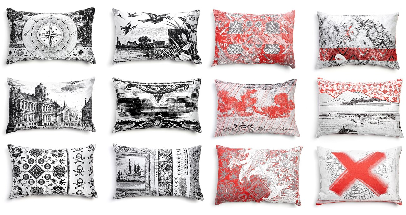 Heritage & oil pillows
