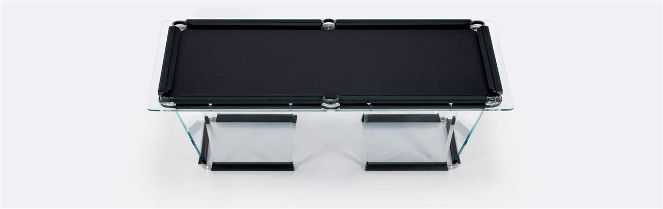 T1.2 Pool Table HAND-SEWN LEATHER