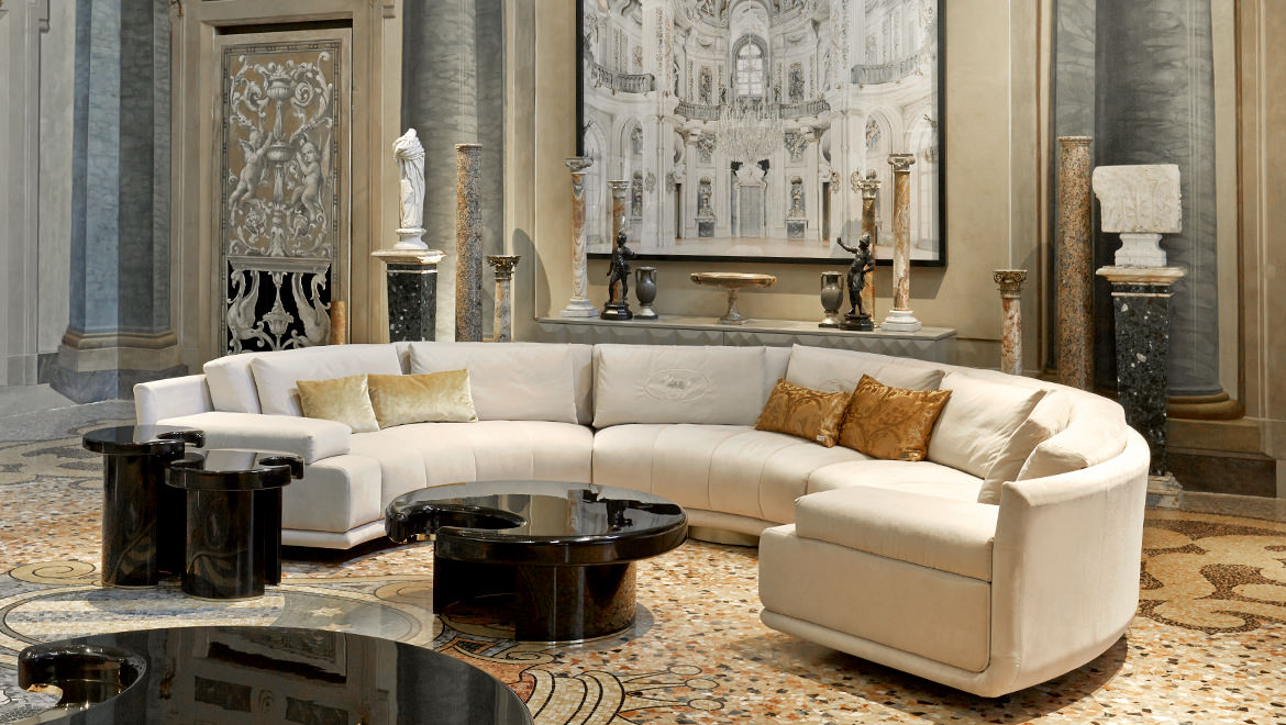 Artù Round Sectional Sofa