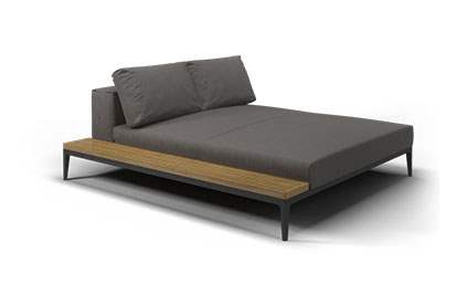 Grid Left / Right Chill Chaise Unit