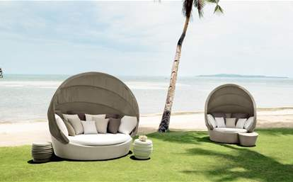 Orbit loveseat incl. canopy
