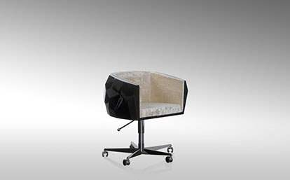 Crystal Office Chair